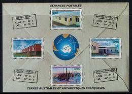 T.A.A.F. // 2004 //  Bloc-feuillet No.11 Y&T Neuf**  Gérances Postales - Blocs-feuillets