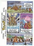 T.A.A.F. // 2004 //  Bloc-feuillet No.12 Y&T Neuf**  Collection Jeunesse - Blocs-feuillets