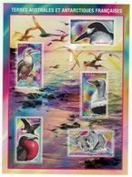 T.A.A.F. // 2008 //  Bloc-feuillet No.21 Y&T Neuf**  Faune, Oiseaux Des îles Eparses - Blocs-feuillets