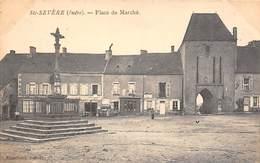 Sainte Sevère         36         Place Du Marché         (Pli Voir Scan) - France