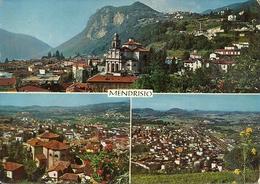 Mendrisio (Tessin, Svizzera) Vedute Panoramiche, Panoramics Views, Vues Panoramiques, Ansichten - TI Tessin