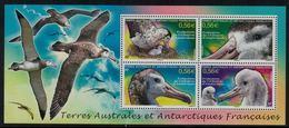 T.A.A.F. // 2010 //  Bloc-feuillet No.24 Y&T Neuf**  Faune, Oiseaux , Protection De L'albatros - Blocs-feuillets