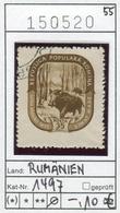 Rumänien - Roumanie - Romina - Rominia - Michel 1497 -  Oo Oblit. Used Gebruikt - Wildschwein - 1948-.... Republiken