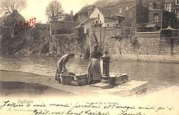 Dolhain - Au Bord De La Vesdre (animée, Lavandières, Nels 1909) - Limbourg