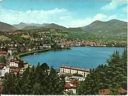 Lugano (Tessin, Svizzera) Panorama Dalla Collina, View From The Hill, Vue De La Colline - TI Tessin
