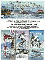T.A.A.F. // 2002 //  Bloc-feuillet No.340-343 Y&T Neuf**  Collection Jeunesse, Les Jeux Olympiques Des T.A.A.F. - Blocs-feuillets