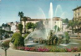 Lugano (Tessin, Svizzera) Fontana Piazza Manzoni, Fontaine Place Manzoni, Fountain Manzoni Square - TI Tessin