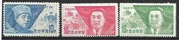 COR005 - 1962 COREA DEL NORD - CINQUANTENARIO DELLA NASCITA DEL MARESCIALLO KIM II SUNG - NUOVI - Corea Del Nord