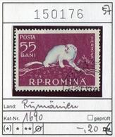 Rumänien - Roumanie - Romina - Rominia - Michel 1690 -  Oo Oblit. Used Gebruikt - Hermelin - 1948-.... Republiken