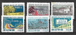 COR006 - 1962 COREA DEL NORD - PRODUZIONE - NUOVI - Corea Del Nord