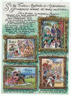 T.A.A.F. // 2003 //  Bloc-feuillet No.364-367 Y&T Neuf**  Collection Jeunesse, Les T.A.A.F. Par Les Peintres Du 18e-19e - Blocs-feuillets