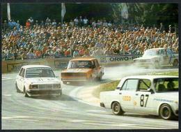 C6403 - TOP Tourenwagen In Der Waldkurve - Reichenbach DDR - Werbung - Auto Car Autorennen - Motorsport