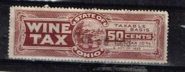 Lot Etats-Unis, Timbre Fiscal à Identifier - Stamps
