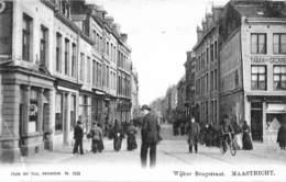 Maastricht - Wijker Brugstraat (animatie, Phto Jos Nuss 1904...gevouwen Hoek) - Maastricht