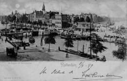 Rotterdam - Boompjes En Leuvehaven (1899, Animatie, R & J D) - Rotterdam