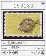 Rumänien - Roumanie - Romina - Rominia - Michel 1929 -  Oo Oblit. Used Gebruikt - Fische Fishes - 1948-.... Republiken