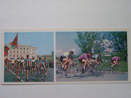 Cycling / Cycling Races Leningrad CCCP Russian Postcard - Cyclisme