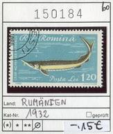 Rumänien - Roumanie - Romina - Rominia - Michel 1932 -  Oo Oblit. Used Gebruikt - Fische Fishes - 1948-.... Republiken