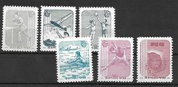 COR014 - 1961 COREA DEL NORD - GIORNATA DELLO SPORT - NUOVI - Corea Del Nord