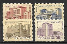 COR015 - 1961 COREA DEL NORD - TESSILE - NUOVI - Corea Del Nord