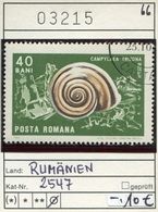 Rumänien - Roumanie - Romina - Rominia - Michel 2547 -  Oo Oblit. Used Gebruikt - Schnecken Snails - 1948-.... Republiken