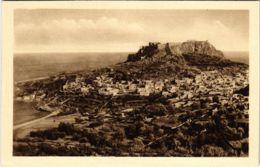 CPA Lindo Vista D'insieme Della Cittá E Del Castello Acropoli GREECE (802339) - Grecia