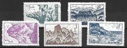 COR018 - 1961 COREA DEL NORD - MONTAGNE - NUOVI - Corea Del Nord