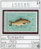 Rumänien - Roumanie - Romina - Rominia - Michel 1689 - ** Mnh Neuf Postfris - Fische Fishes - 1948-.... Republiken