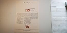 FRANCE FDC Document Philatélique 1er Premier Jour LUTTE CONTRE LE RACISME 1982 - Collection Timbre Poste - FDC