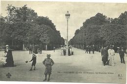 (POITIERS)(86 VIENNE) JARDIN DE BLOSSAC  LES GRANDES ALLEES - Poitiers