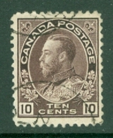 Canada: 1911/22   KGV    SG210    10c   Brownish Purple      Used - 1911-1935 Reinado De George V
