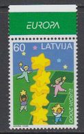 Europa Cept 2000 Latvia 1v (+margin)  ** Mnh (43139C) - Europa-CEPT
