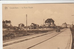 Coxyde , Koksijde  :    Route Royale   (STAR) N°180 (auto) - Koksijde