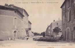 MONTAREN - Avenue D'Uzès - France