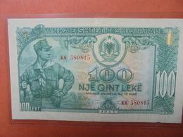 ALBANIE 100 LEKE 1949 CIRCULER-BELLE QUALITE (B.3) - Albania