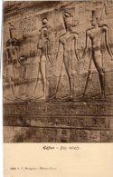 CPA   EGYPTE---EDFON---BAS RELIEF - Egypt