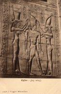 CPA   EGYPTE---EDFON---BAS RELIEF---N° 5039 - Egypt