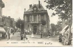 Col1/       64   Biarritz      L'hotel De Ville   (animations) - Biarritz