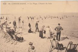 Koksijde , Coxyde :   La Plage ,L'Heure Du Bain , (P.I.B. ,n° 99 ) - Koksijde