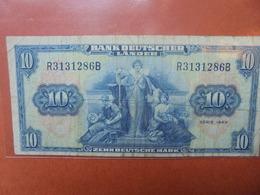 Bank Deutscher Länder : 10 MARK 1949 CIRCULER (B.3) - 10 Deutsche Mark