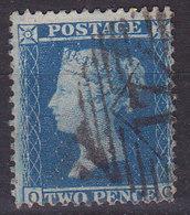 Grande Bretagne Victoria Two Pence  N°15 Oblitéré - 1840-1901 (Viktoria)