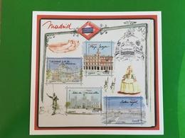 Carte Postale Prétimbrée 2019 Madrid - Timbres (représentations)
