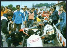 C6419 - TOP Schleizer Dreieck Rennen - An Der BOX - Reichenbach DDR - Motorcycle Sport