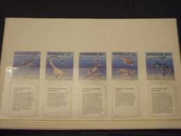 BARBADOS - 1993 PREISTORIA 5 VALORI - NUOVI(++) - Barbados (1966-...)