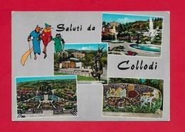 CARTOLINA NV ITALIA - Saluti Da COLLODI - Vedutine Multivue - 10 X 15 - Saluti Da.../ Gruss Aus...