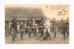 Mission Des Filles De Marie De Pesches.Arrivée Des Malades Au Dispensaire. - Congo Belge - Autres