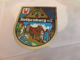 écusson  Autocollant ROTHENBURG - Autocollants