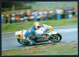 C6424 - TOP Silvio Habat Jugoslawien - Schleizer Dreieck Rennen - 500 Er Honda - Reichenbach DDR - Motorcycle Sport