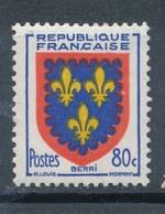 Frankreich 80 C. Postfr. Wappen Berri Lilien - Briefmarken