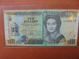BELIZE 10$ 2005 CIRCULER (B.3) - Belize